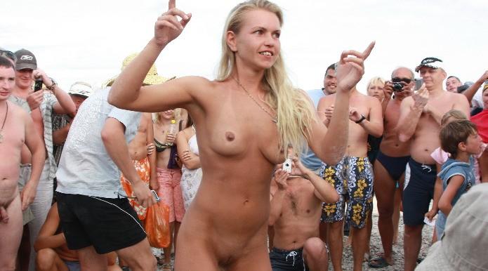 Porn Beach Party