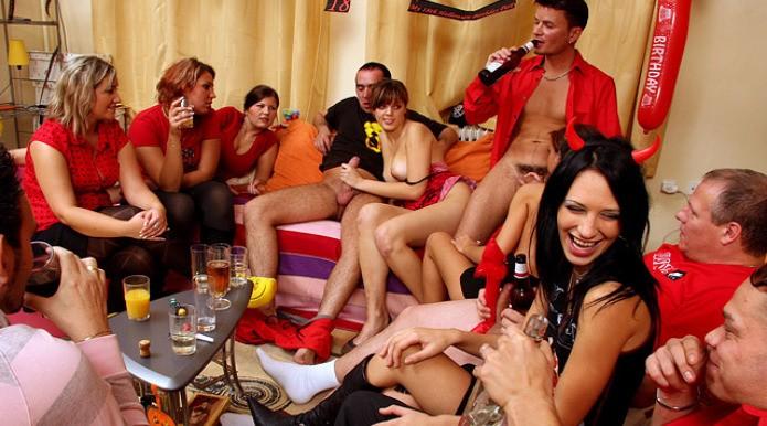 Porn Halloween Party