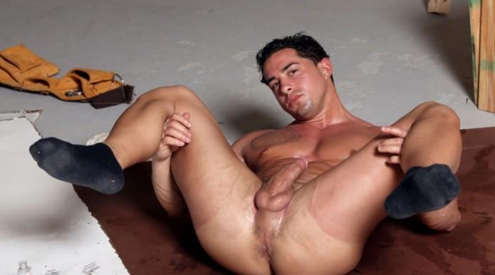 Nude hunk anal sex