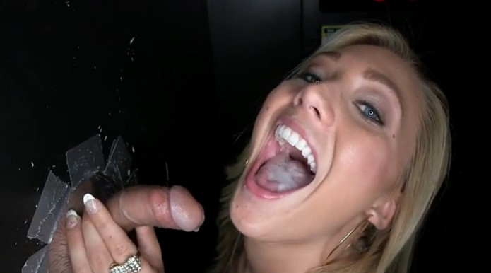 College girls who swallow cum hot blonde 7
