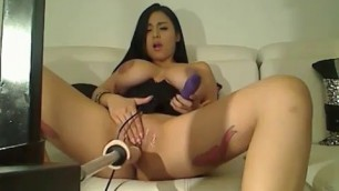 dayana perez sosa anal Dildo in its narrow crack