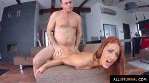 Sexual Redhead Aylin Diamond hottie in a cumshot creampie scene