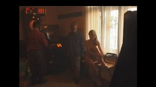 Cmnf naked Beautiful Waitress Playing Darts