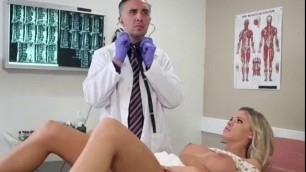 College Sexy Chick Jessa Rhodes Has Oral Sex With Hung Doctor