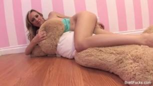 Brett Rossi behind the scenes Playful girl wants cock dick