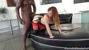 Dani Jensen vs Redhead Lex Quick fuck in her tight pussy
