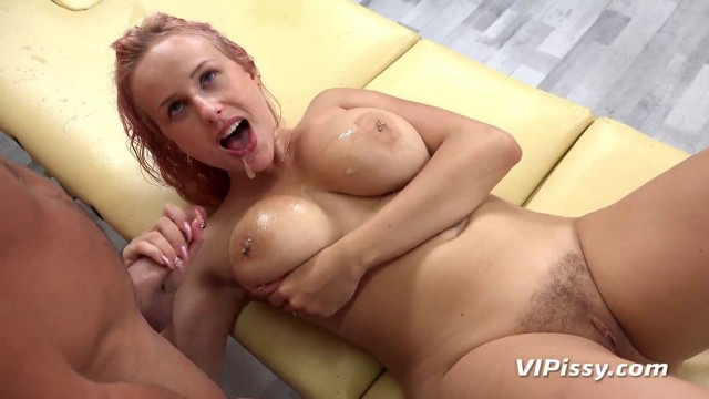 VIPissy Angel Wicky Girl Big Boobs Piss Drenched Spa
