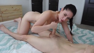 Slave Leia Im Your fuck toy Shakes his ass on his cock