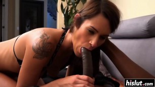 Tyler Michaels tries a black cock