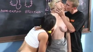 Dalny Margas hard a long, hard day of teaching sex ed to a