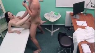 Sexual Hoe Rebecca Volpetti Gets Doctors Jizz On Her Face