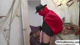 Amazing Cory teaches Rose to suck dick