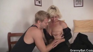 Raunchy Blonde Mature Some Help Goes A Long Way php