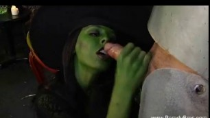 Fucking The Wicked Witch sucks cock and fucks