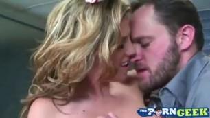 Depraved Blonde Charisma Cappelli Nursing Whore