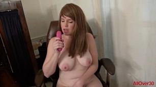 The girl fucks herself dildo Holly Fuller Solo Toys