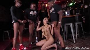 Sexual Woman Aaliyah Hadid Interracial Gangbang