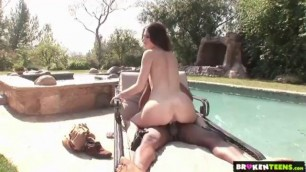ute Tori Taylor Pussy Ravaged by a Big Black Cock