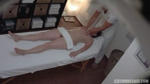 Wet girl fucks in a doggy style pose with a massage 206