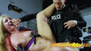 Submissive Young Blonde Mila Marx Gets Her Teenage Pussy Banged While She's Being Tied
