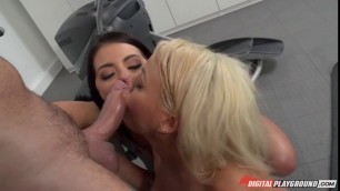 Adriana Chechik and Luna Star Appealing Girls squirting