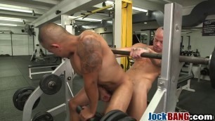 Naughty dude pleased with fat dick