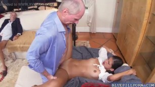 Stunning Victoria Valencia awesome fuck with old men