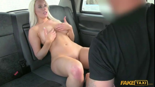 FakeTaxi White Nude Babe Taylor Shay Fucking in the Car