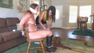 Lezdom Strippers humiliation