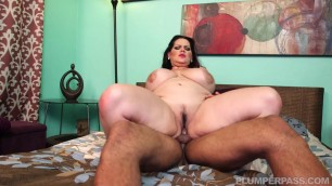 Cock Dreams for Plumper Thick Brunette Angelina Castro