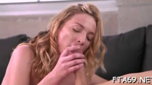 Exotic babe shows real potential at sucking and fucking