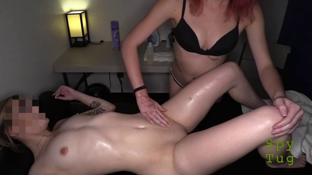 Nice Girl Caresses breasts and pussy of another girl E69