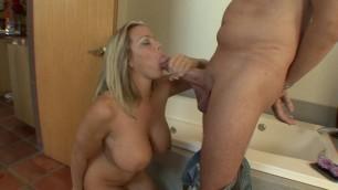 Amber Lynn Bach Stunning Busty Milf enjoy Big Cock