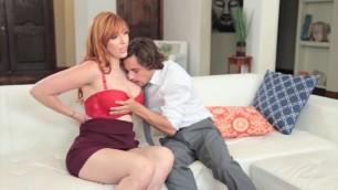 Lauren Phillips Fiery Redhead Woman International Affair Hustler
