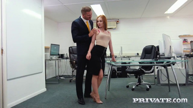 Sexy Ella Hughes Earns Her Job by Fucking the Boss Private