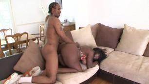 Kelly Starr big black woman sucks cock and fucks