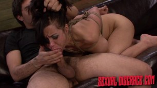 Tender Girl Kimmie Lee it is tied up and humiliated