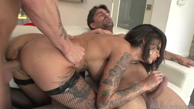 Bonnie Rotten Tattooed Girl Fuck Hard Rump Raiders 5