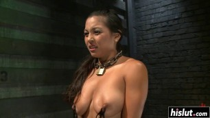 Adrianna Luna gets tied up and fucked