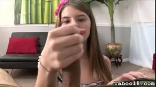 Tiny Girl Alice Marshall Handjob