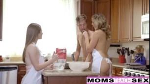 Horny Step Mom Tricks Teen Alice Marshall Into Hot Threeway