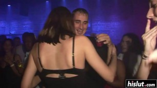 Club girls love to show their bodies