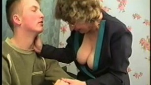 Mother Consoles Son With Swallow