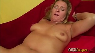 Big Ass Mommy Rides  Black Dick