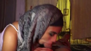 Arab Teen Whores Fucked And Sucking Dick In A Brothel Together
