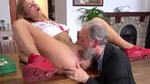 Young Slut Chrissy Fox Gets Bent Over And Fucked
