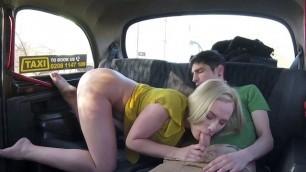 Blonde Cab Driver Cristal Caitlin Screws Hung Client