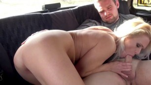 Hot Taxi Driver Kathy Anderson Gets Good Dicking