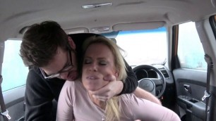 Chick Sasha Steele Lets Driving Instructor Fuck Her