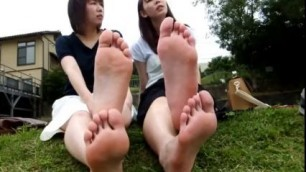 Asian Foot Model Demi Delia